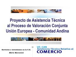 PROYECTO COMERCIO - Portal de la Comunidad Andina