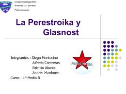 La perestroika - Patricio Alvarez Silva