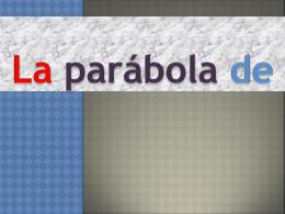 la parabola del