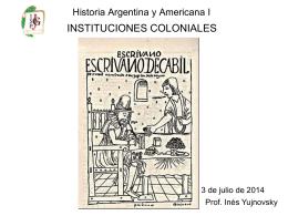 Historia Argentina y Americana I