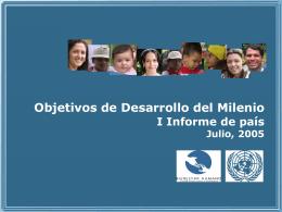 MDG avance Costa Rica