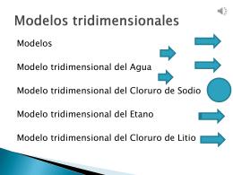 MODELOS TRIDIMENCIONALES