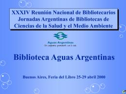 LA BIBLIOTECA, PLANTA SAN MARTIN