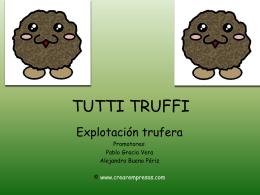 TUTTI TRUFFI - WEB EN MANTENIMIENTO