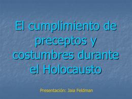שקופית 1 - Bienvenido al Centro de Estudios Judaicos