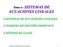 Tema 1.- ESPACIOS VECTORIALES