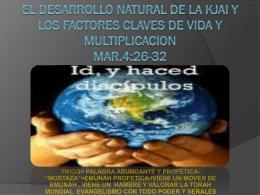 EL DESARROLLO NATURAL DE LA KJAI Y LOS FACTORES …
