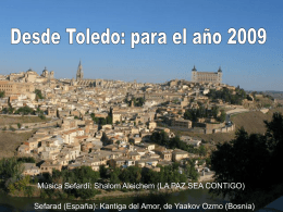 Desde Toledo: Feliz 2009