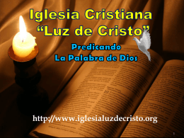 LA VERDADERA GRACIA - Iglesia Cristiana Luz de Cristo