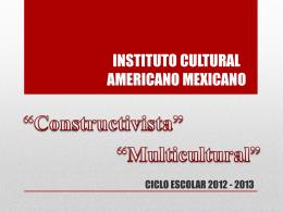 INSTITUTO CULTURAL AMERICANO MEXICANO