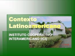 Contexto Latinoamericano - ICI Panama: Instituto