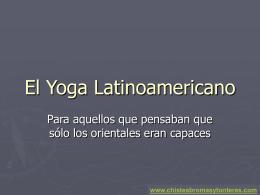 El Yoga Latinoamericano