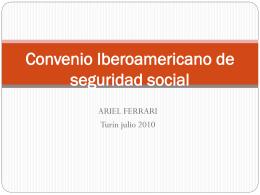 CONVENIO IBEROAMERICANO