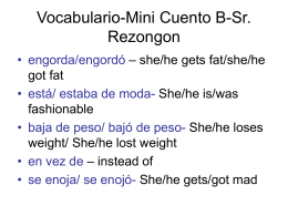 Vocabulario-Mini Cuento B