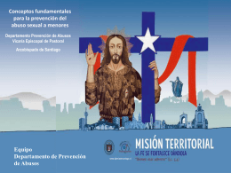 Diapositiva 1 - Arzobispado de Santiago