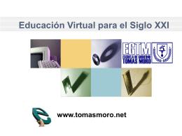 Click to add title - Escuela de Gobierno Tomas Moro, EGTM