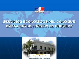 SERVICIOS ECONOMICOS DE LA EMBAJADA DE FRANCIA