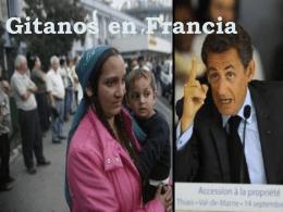 Gitanos en Francia