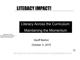 LITERACY IMPACT! - Free English resources for students …