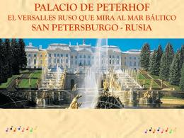 EL PALACIO DE PETERHOF-