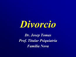 DIVORCIO - Familianova Schola