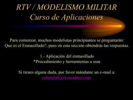 RTV/Modelismo Militar