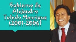 Gobierno de Alejandro Toledo Manrique (2001