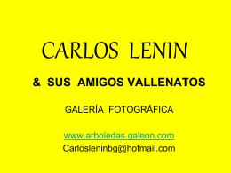 CARLOS LENIN - Arboledas Colombia
