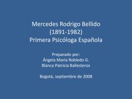 Mercedes Rodrigo Bellido (1891