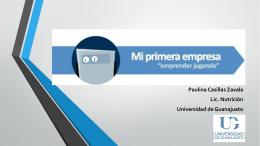 """Mi Primera Empresa: Emprender Jugando"""""""