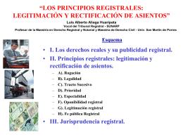 """Seminario de Derecho Empresarial """"Aspectos societarios …"""