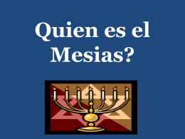 WHO IS THE MESSIAH?