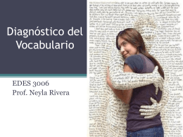 Diagnostico del Vocabulario - fjrp69