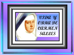 Album de Carmen Salles - Concepcionistas Misioneras de …