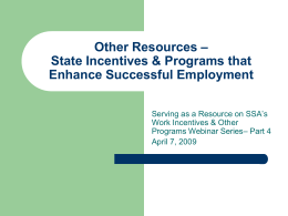 The Current Employment Landscape: Pathways to Self …