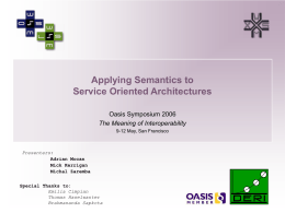 Semantic Service Oriented Architecture