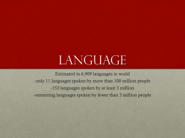 Language - Loudoun County Public Schools