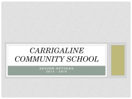 CARRIGALINE COMMUNITY SCHOOL