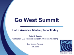 Shop America's Global Summit