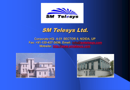 SM Electronics & Services Ltd.