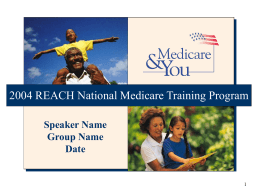 Reaching Medicare Beneficiaries with Communication Barriers
