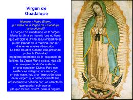 Virgen de Guadalupe - PALABRA DE DIOS 2015