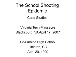 Umassmed Edu UploadedFiles School Shooting Slides Ppt