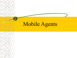 Deploying the Mobile Agent Technology in Warehouse …