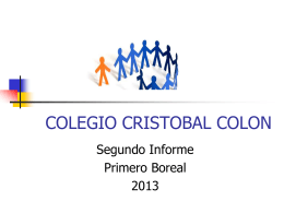 COLEGIO CRISTOBAL COLON