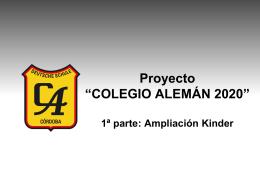 COLEGIO ALEMAN 2020