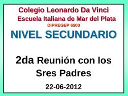 Colegio Leonardo Da Vinci Escuela Italiana de Mar del