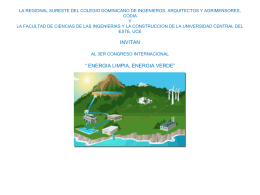 COLEGIO DOMINICANO DE INGENIEROS, ARQUITECTOS …