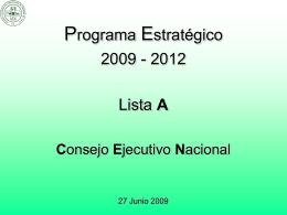 Propuesta Programa Colegio EPRAG