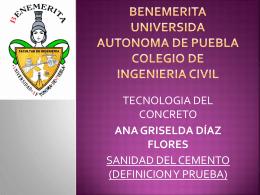 BENEMERITA UNIVERSIDA AUTONOMA DE PUEBLA …
